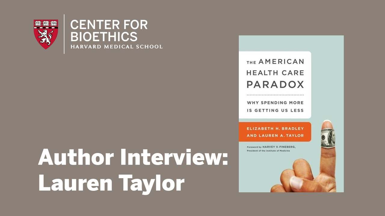 Cover of The American Health Care Paradox
